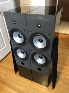 """Top of the line Energy Connosoir  C-8 Dual 8"""" woofers 63lbs each"""