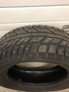 4 studded Cooper Tires- Weather-Master WSC 255/60R19