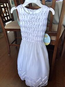 Girls White Dress (new with tags)