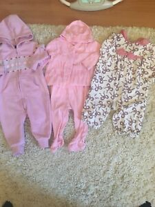3-6 & 6-12 baby girl clothing lot (over 45 items)
