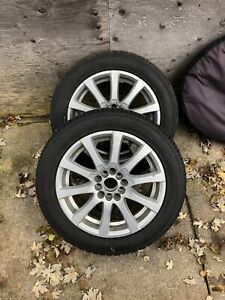 VW alloy rims with winter rubber