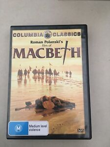 Macbeth - Roman Polanski version DVD (Shakespeare)
