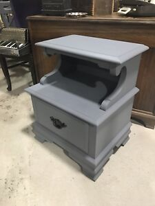 Side table -Soap Stone Grey