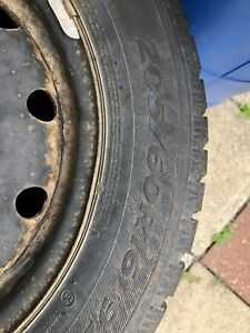 205/60 R16 winter tires like new