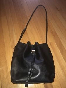 Black leather bag from aritizia (Auxillary)