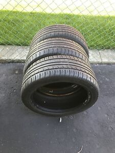 3 used tires. 215/45/R17