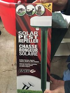 Chasse-rongeur solaire