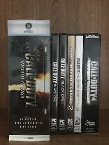 Call of duty PC game lot