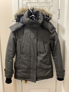 XS GREY NOBIS LUNA DOWN JACKET