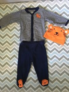 Tiger Outfit - Size 0-3 Months - Excellent Condition