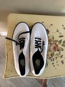 Black and white Vans size 11 - never worn