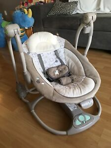 Ingenuity ConvertMe portable baby swing