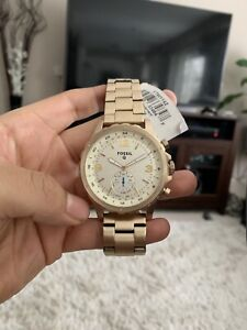 New Gold hybrid fossil watch