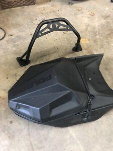 Polaris snowmobile rear luggage