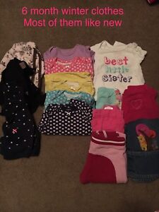6-12 month girls clothes