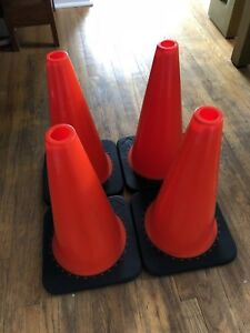 Safety Cones (set of 4)