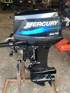 25 hp.  Outboard