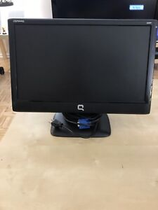 "HP Compaq 18"" Widescreen LCD Computer Monitor"