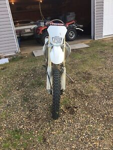 2008 crf 250x reduced 3000$obo