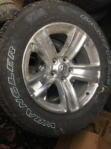 NEW DODGE AND JEEP RIMS AND TIRES