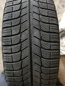 215 55 17 tires + steel wheels.  Used 2 seasons
