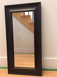 Cadre miroir bois
