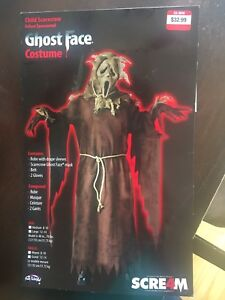 Ghost Face Costume