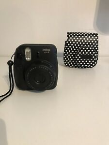 Instax mini 8 with case included