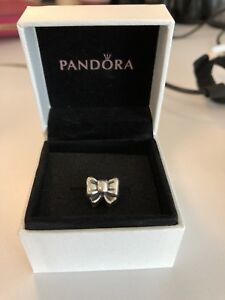 Retired Pandora Bow Charm
