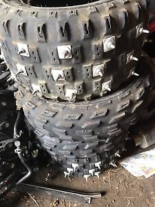 studded tires sizes in pics