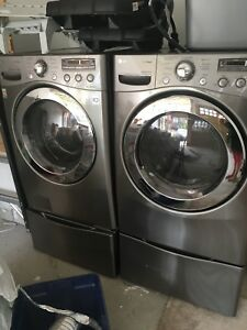 Washer Dryer With sliding drawers excellent condition