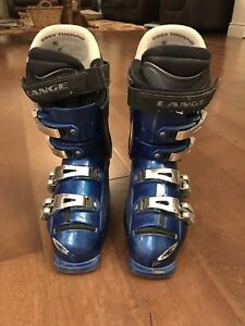 Lange 24.0 youth ski boots (size 6)