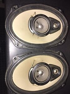 Pioneer 3 way - 6x9 speakers - make an offer