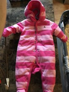 Infant girls snow suit