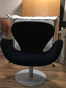 Velvet swivel chair (3 + 1)