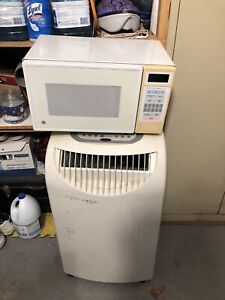 A portable AC and microwave
