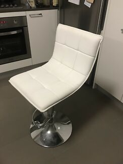 White bar stool $20
