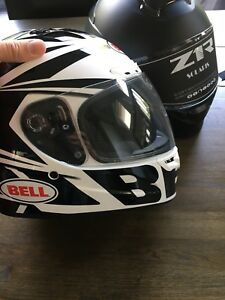 Bell Vortex Motorcycle Helmet Large