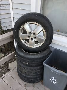 Chevy Cavalier aluminium rims with tires 195/65R15
