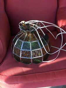Glass Tiffany Lamp