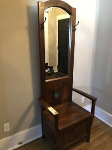 Front hall wooden chair