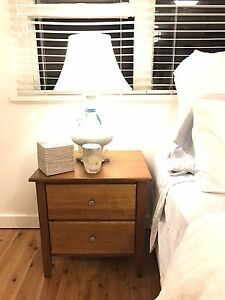 Wooden Bedside Tables Darling Point Eastern Suburbs Preview