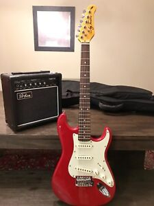 Jay Turser 3/4 Size Guitar with Amp