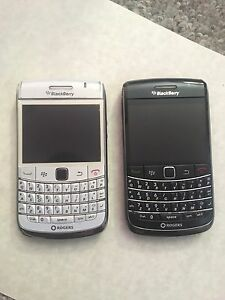 Two BlackBerry Bold Phones