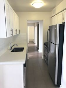 Newly Renovated ! 2 bedroom apartment