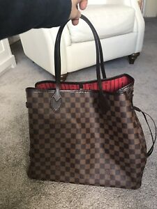 Like new Neverfull GM with luggage tag receipt