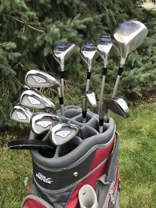 Golf clubs - Complete 12 pc set of ladies RH Goliath clubs