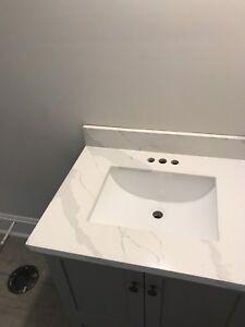 Quartz granite marble quartzite countertops