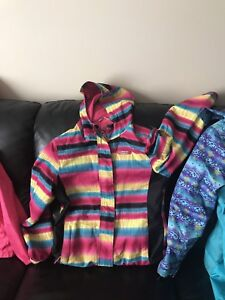Fall/spring coats and a winter snowsuit!!