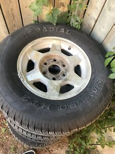 255/70r/16 tires on rims